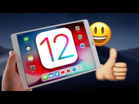 iOS 12 On The iPad is Great!