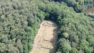 Drone Mavic 2 Zoom, Plasmolen, Roman Villa