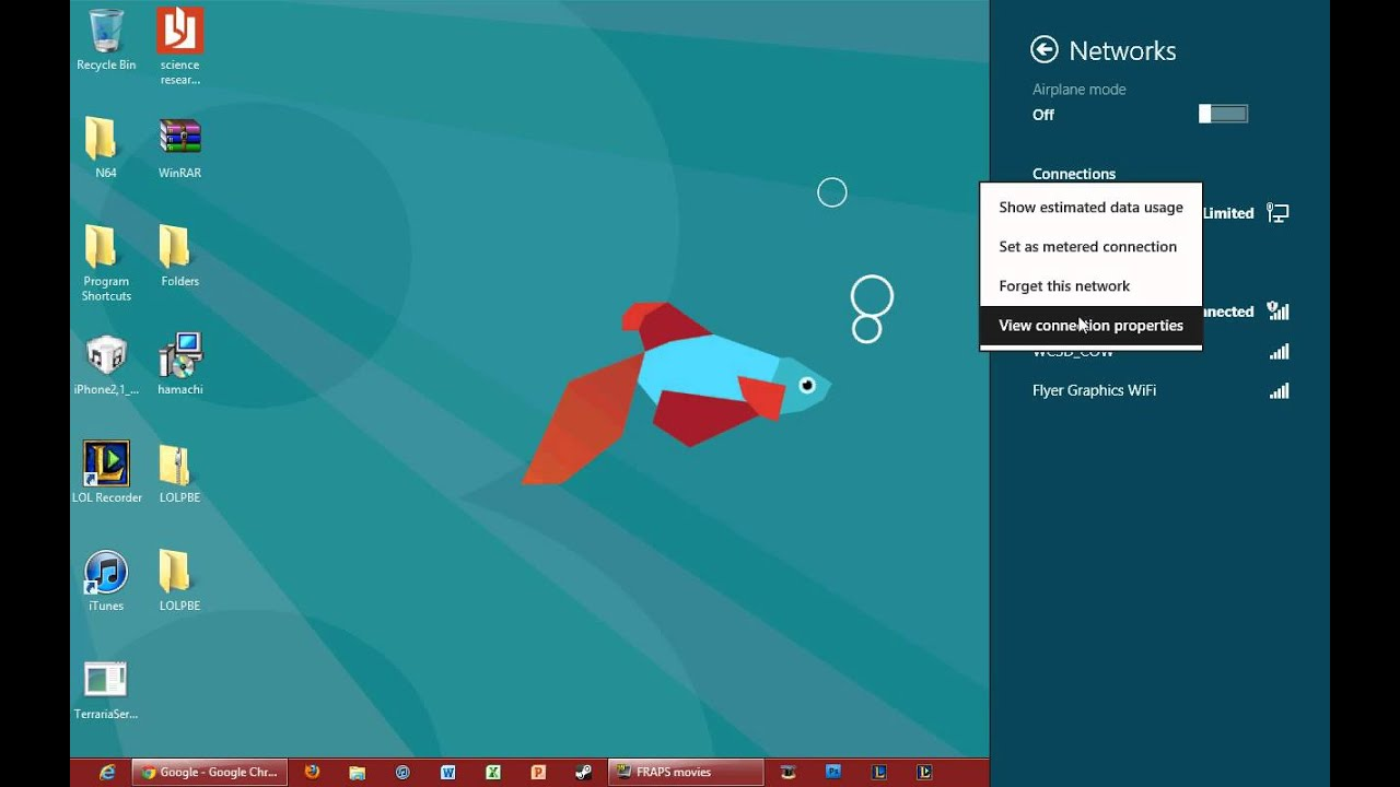 How to find out any wifi password on windows 8