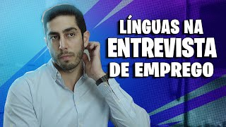 Línguas na Entrevista de Emprego - DESCONFINADOS (Erros no final)
