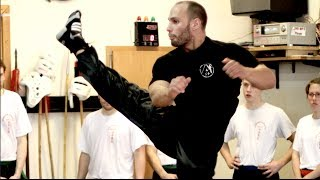 Xtreme Martial Arts Kick Seminar - Flying Uwe