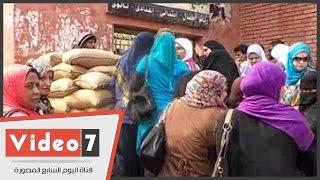 بالفيديو.. النساء أكثر إقبالا على التصويت بالحوامدية فى اليوم الثانى للانتخابات البرلمانية