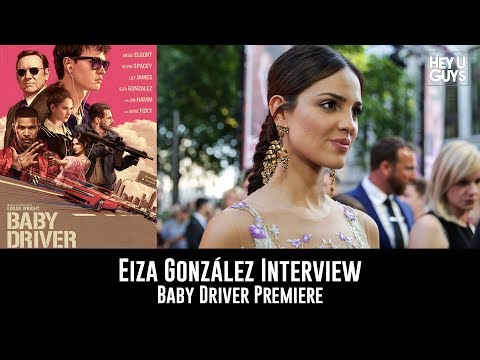 Eiza González Baby Driver UK Premiere Interview