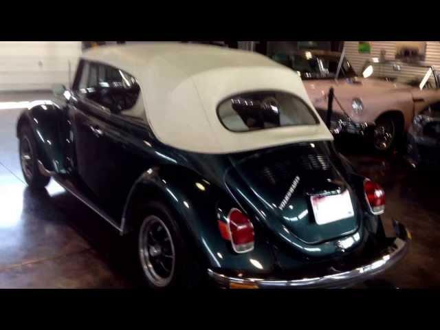 1972 Volkswagen Beetle Convertible SOLD Sun Valley Auto Club!