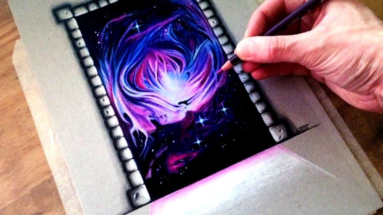 Fantasy Dimensional Portal Art