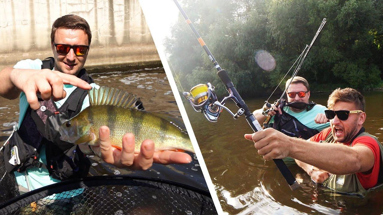 Málem jsem se Utopil při chytání ryb! | Moje První Přívlač!