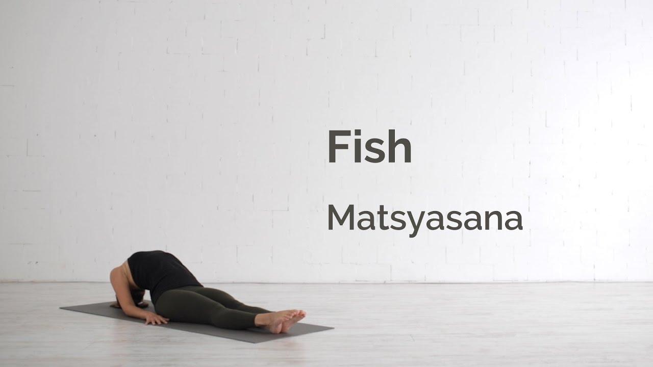 Fish Pose (Matsyasana) Tutorial - YouTube