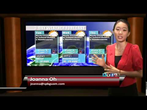 Weather with Joanna Oh (09 08)