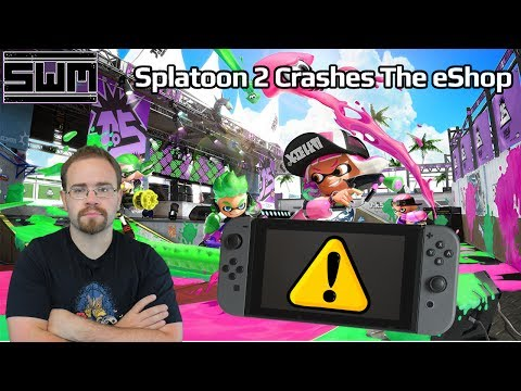 News Wave! - Splatoon 2 Released...And Crashed The Nintendo Switch eShop!