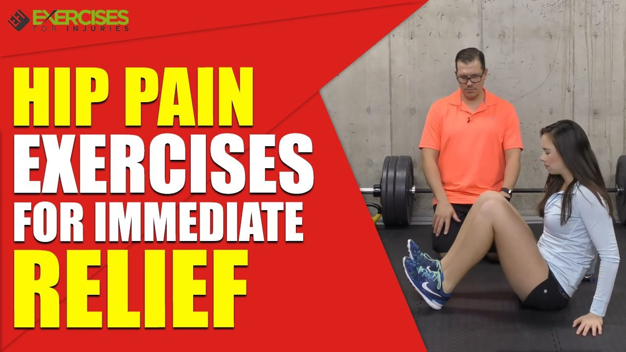 Hip Pain Exercises for Immediate Relief - YouTube