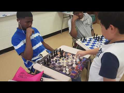 Ryan Wu CHESS SIMUL @Wingfield High School(3)