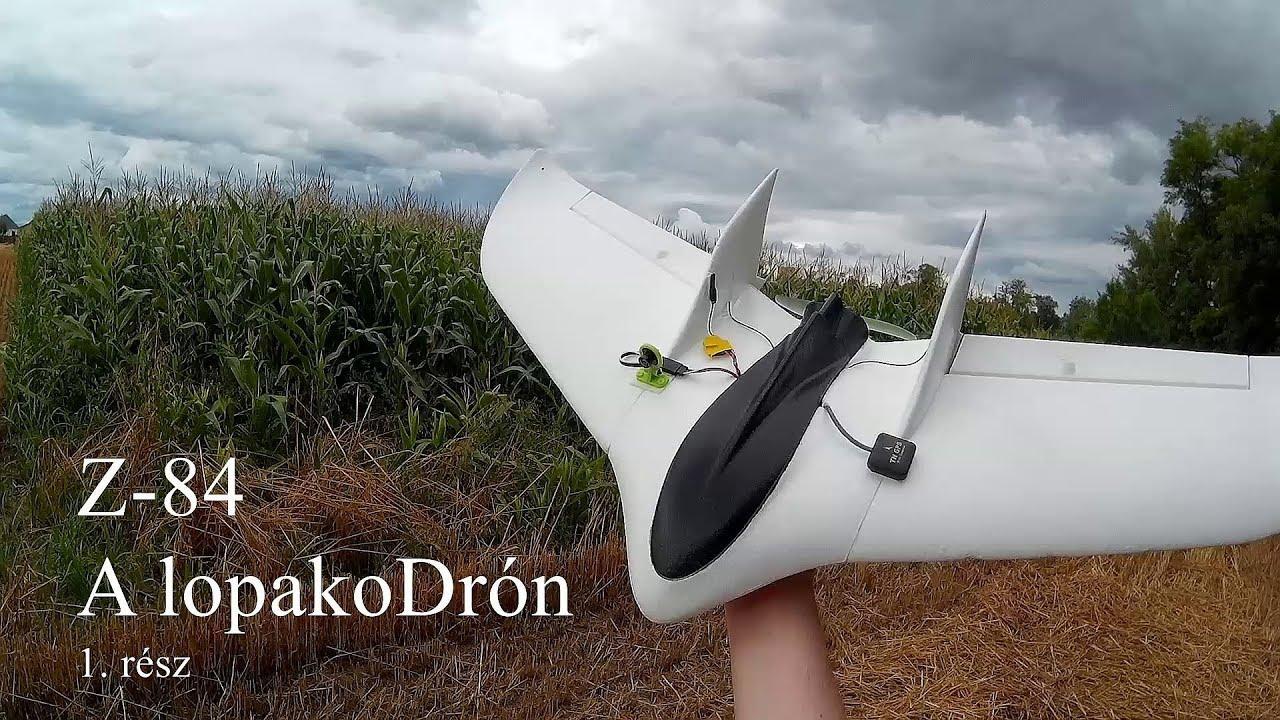 Hogy készül a háztáji LopakoDrón - 4  rész - Kopter Géza