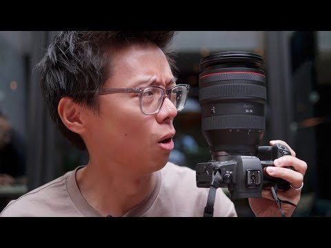 Canon EOS R Full Frame Mirrorless! Hands-on First Look