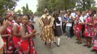 Zulu and Scottish cultures unite in a unique traditional wedding (FULL INSERT)