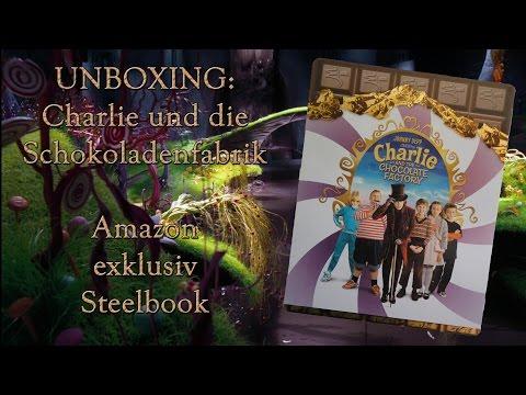 unboxing---charlie-und-die-schokoladenfabrik---amazon-exklusiv-steelbook