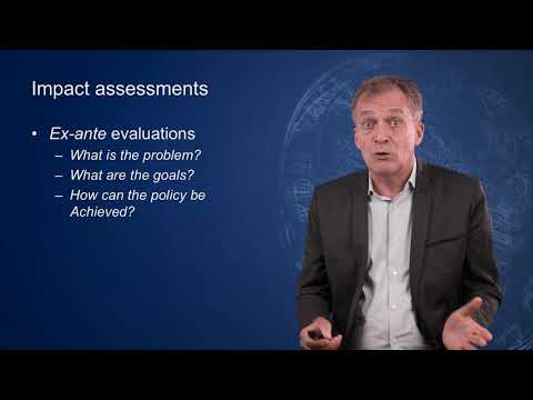 EU policy and implementation - 5.3 Consultations, impact assessments, and ex-post evaluations