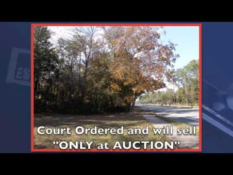 Florida Commercial Real Estate Auction near Jacksonville, Florida Land Auctions, Orange Park
