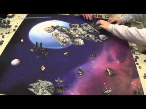 Star Wars X-Wing Heroes of the Aturi Cluster Capture Refueling Station