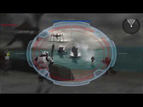 Let's Play Star Wars: Battlefront II (Classic) Part 6 - A Line in the Sand (Campaign) |