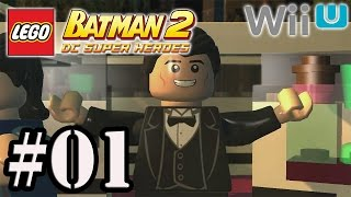 Let's Play: Lego Batman 2 [Wii U] - Parte 1 - Perseguições Teatrais