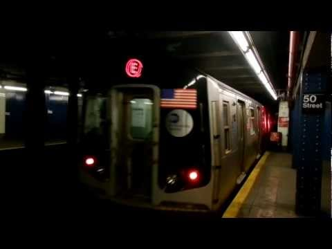 IND Eighth Avenue Line : 50th Street : E-E-C trains