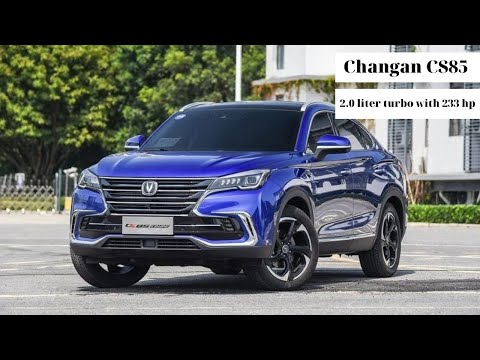 2020 Changan CS85 Coupe is a fastback mid-size SUV | Cars in China