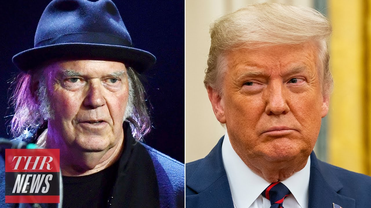 Trump Campaign Sued by Neil Young, Trump Axios Interview Draws Response From 'Veep' Team | THR News