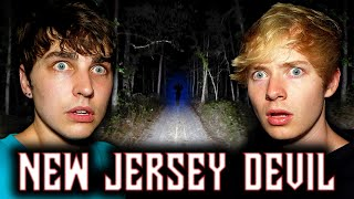 Overnight in USA's Most Haunted Forest: New Jersey DEVIL