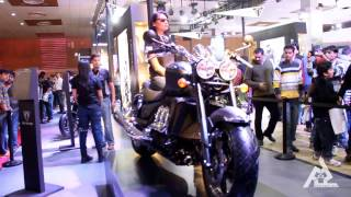 AUTO EXPO 2014 | SPORTS BIKE | NEW CONCEPT BIKES SHOWCASED | GREATER NOIDA
