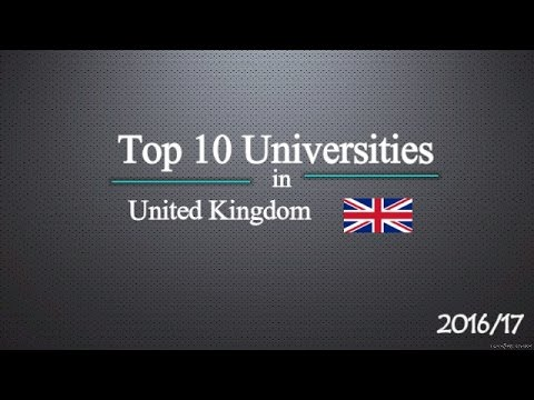 Top 10 Universities in UK 2017