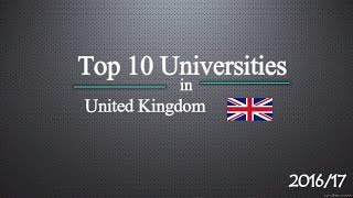 Top 10 Universities in UK 2017 thumbnail