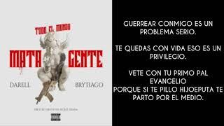 Darell x Brytiago - To El Mundo (LETRA / LYRICS)
