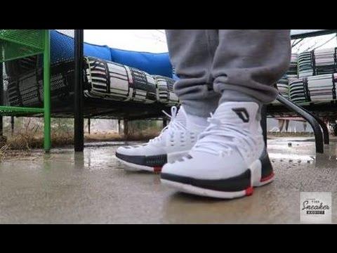 5e9f97c9bc1b adidas DAME 3 Shoe UNBOXING   ON FEET + adidas SENT ME SOMETHING AMAZING!