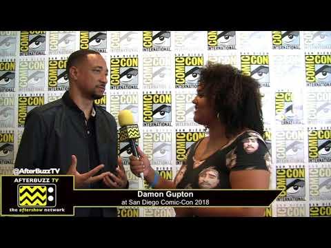 Damon Gupton (Black Lightning) | San Diego Comic-Con 2018 streaming vf