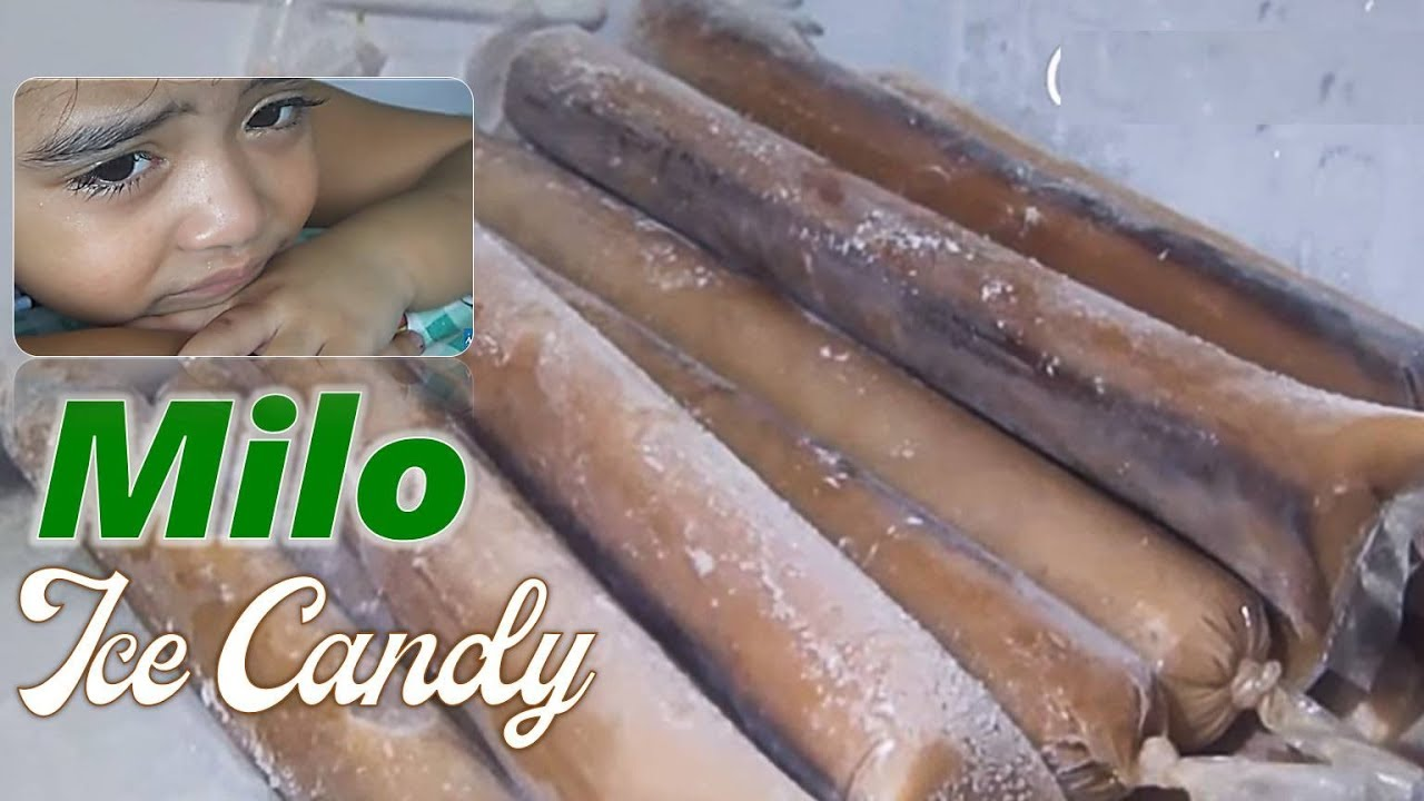 how to make milo ice candy
