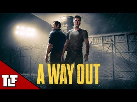 A Way Out - 2 Player Split Screen Prison Escape Game - FULL PLAYTHROUGH | Stream Archive