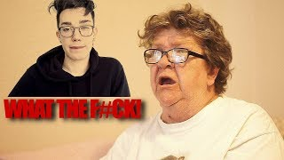 ANGRY GRANDMA WANTS TO FIGHT JAMES CHARLES!?