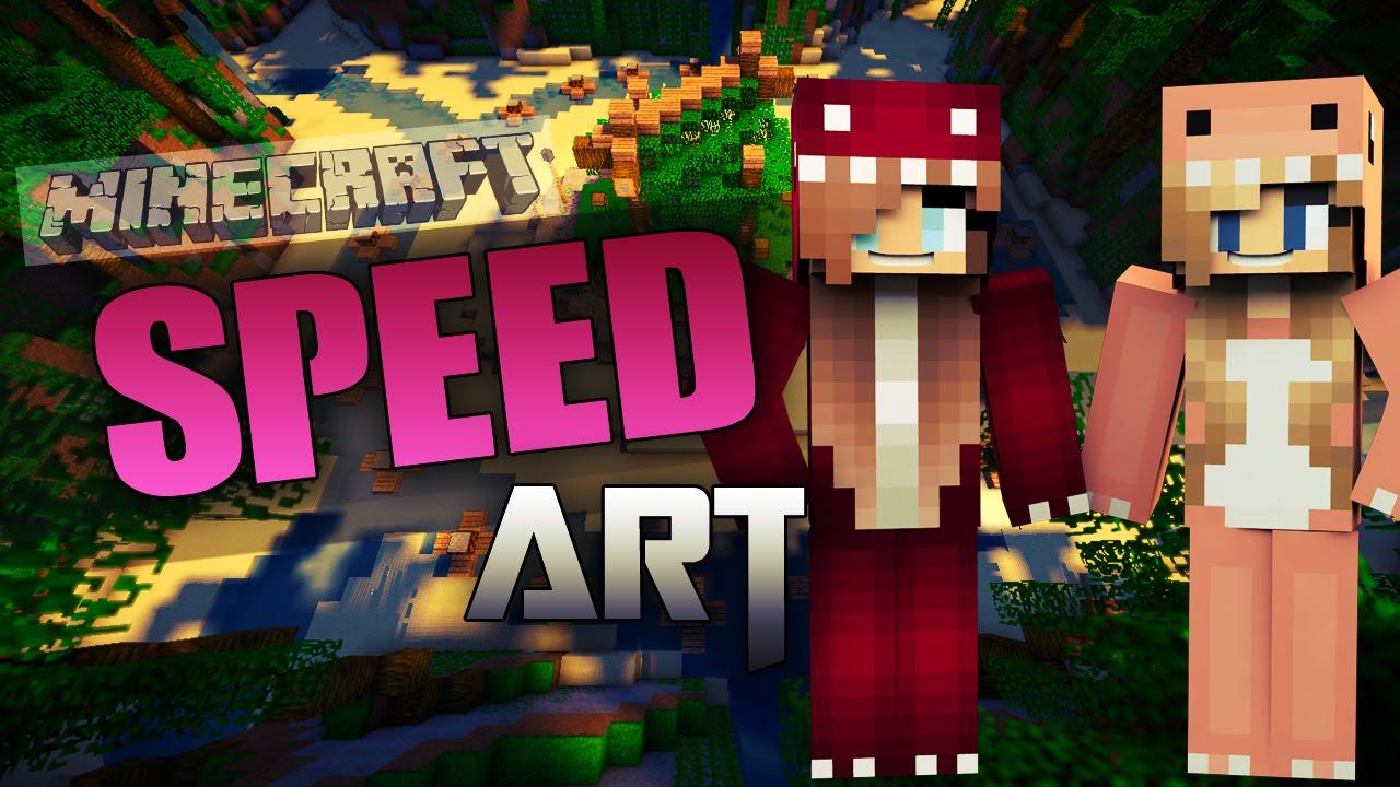 Minecraft Banner Speedart #4 Simply Girls Gaming!