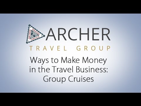 Ways to Make Money in the Travel Business: Group Cruises