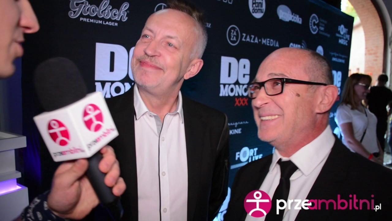 Jak Demono wspomina swoje 30 lat pracy na scenie? Andrzej Krzywy i Piotr Kubaczyk
