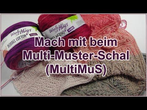 Multi-Muster-Schal (MultiMuS) – Mach mit!