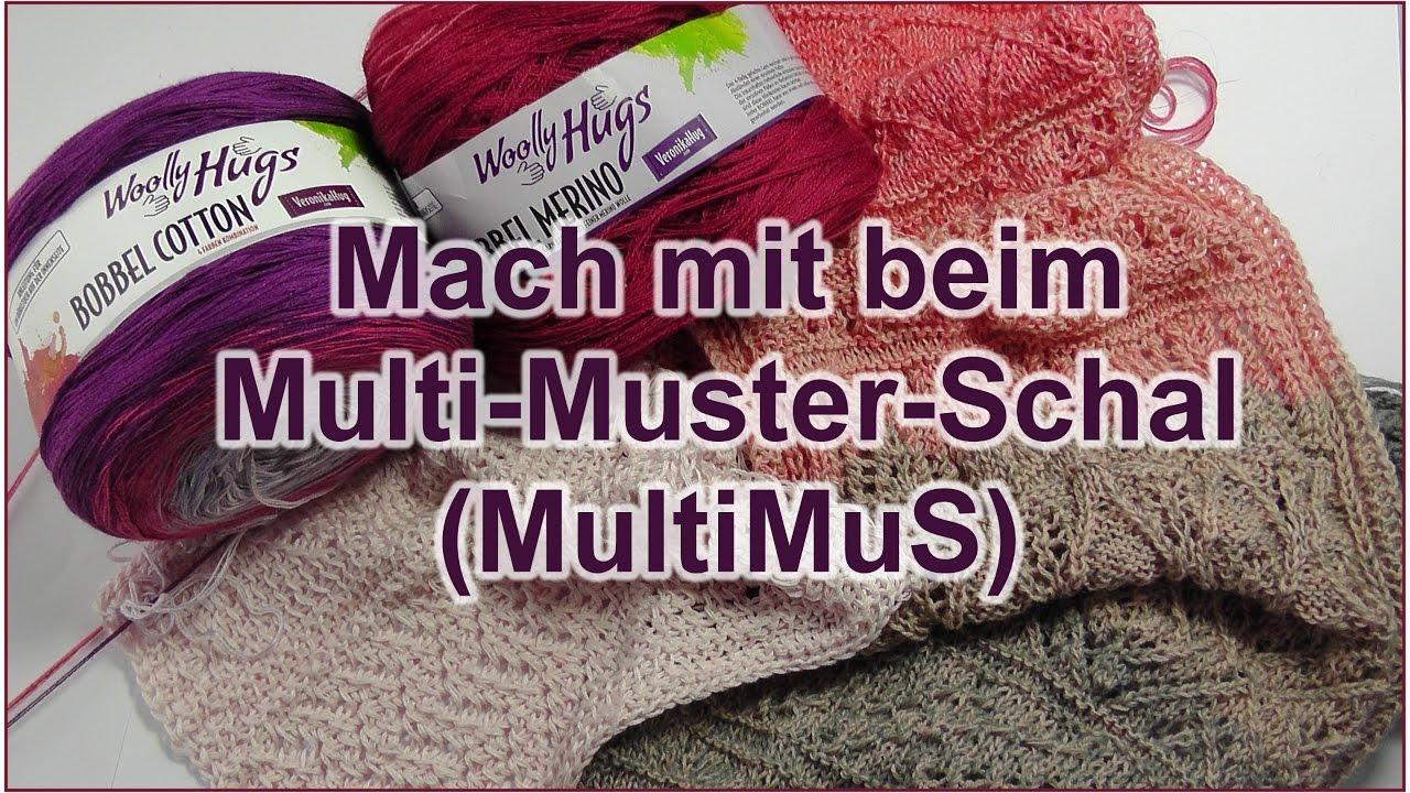 Multi-Muster-Schal (MultiMuS) - Mach mit! - YouTube