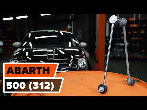 Kako zamenjati prednjegakončnik stabilizatorja na FIAT 500 ABARTH (312) [VODIČ AUTODOC]