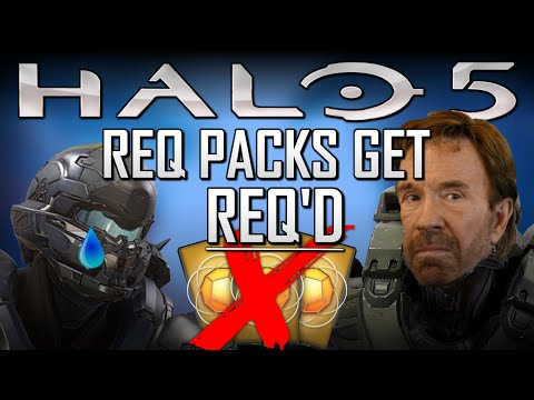Halo 5 REQ Pack RNG Microtransactions BS needs to leave Halo and not come back in Halo 6.