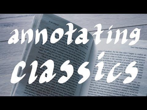 How to Annotate Classics | Books for School