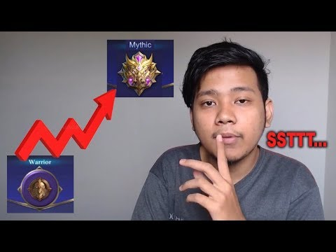 RAHASIA PUSH RANK SOLO WARRIOR TO MYTHIC MOBILE LEGENDS