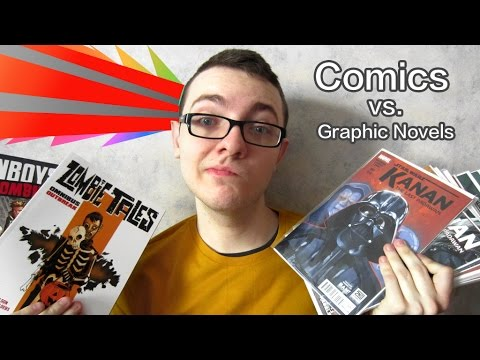 Graphic Novels vs. Comic Books
