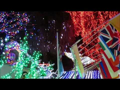 Christmas Lights at Deacon Dave's House in Livermore, California