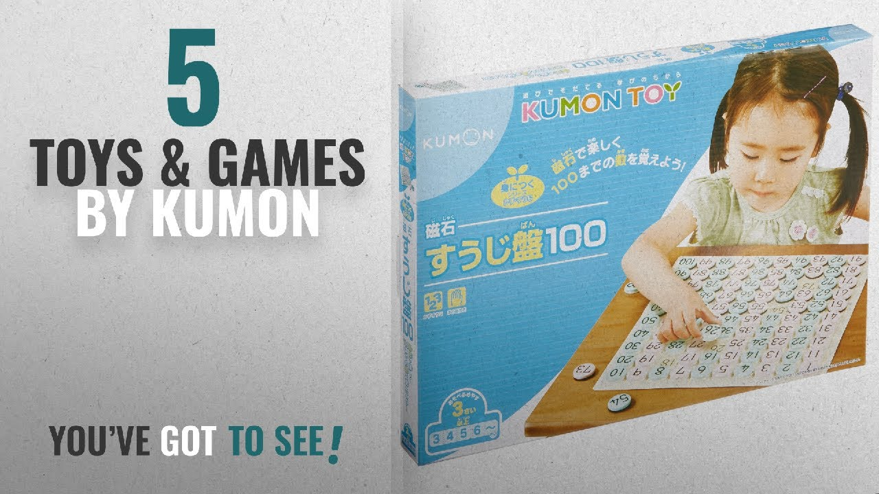 Top 10 Kumon Toys & Games [2018]: Magnet board number 100 of Kumon ...