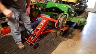 MoJack HDL Mower Jack - My Overview and Thoughts